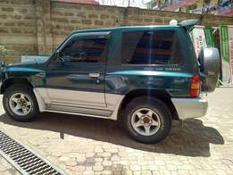 For sale Pajero Short Chasis