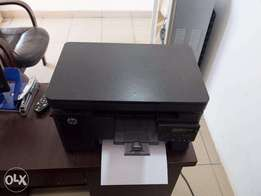 For Sale! Fairly Used Hp Laser Jet Printer Pro MFP M125nw N45,000