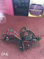 Bejeweled hair clip