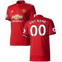 Manchester united 2017/18 home Jersey