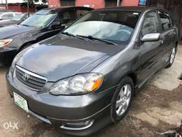 Registered 2007 Toyota Corolla Sport (one year used)1.67M