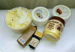 Shea and Cocoa Butter Blend: Ksh 900 for 250gms