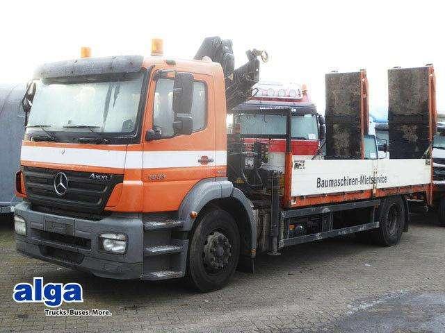 Mercedes-Benz 1833 L Axor, Kran Hiab 099b 3, Rampen - 2007