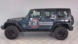 Cutting Jeep Wrangler 3.8 V6