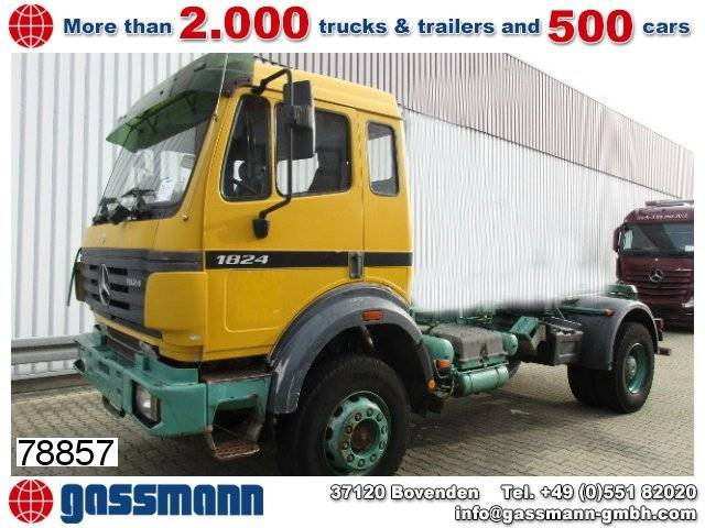 mercedes-benz sk 1824 ak 4x4 chassis - 1995
