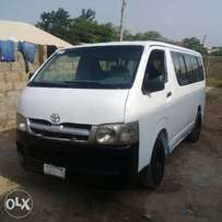 First grade Toyota hiace hummer bus in Ilorin