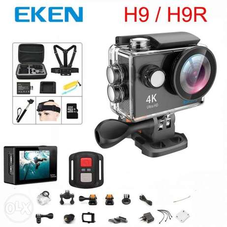 EKEN H9R Action Camera HD 4K 30fps EIS with Ambarella A12 chip in