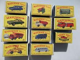 Reproduction Matchbox Boxes, high Quality Toy Box R40 Each