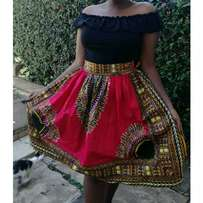 Dashiki ladies skirt