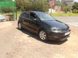 Accident free 2013 Black VW Polo 6 1.6 Hatchback for sale
