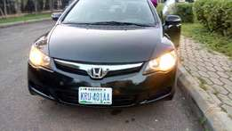 Honda Civic,2008 model. Very sound 4plug engine with Low fuel...