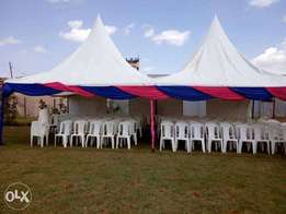 Tents,Chairs, Tables, and Decors for hire