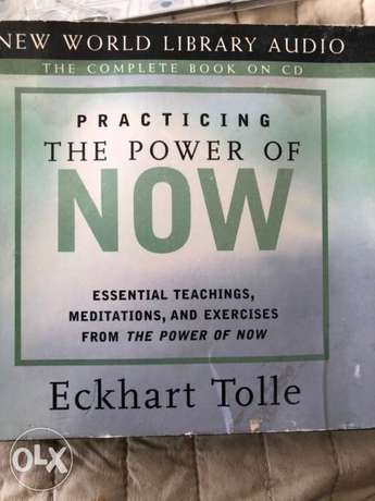 The power of now audio book (3 cds)Echart Tolle
