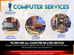 We provide all computer related services