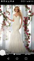 (Size 4- 6) Mori-lee Designer Wedding Dress