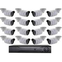 1080P AHD 16 Camera CCTV Kit / 16 Channel DVR