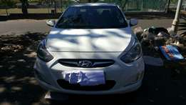 2013 Hyundai Accent 1.6gls in excellent condition