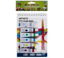 Sketch Pad & Paint Set