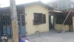 Specious 2bedroom size office space or shop at akerelere surulere