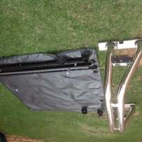 Amarok Taunotent cover and roll bar