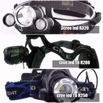 Fishing etc REchargeable headlamp camping etc R250