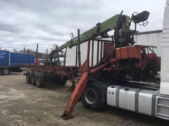 Diebolt non spécifié timber semi-trailer - 1977