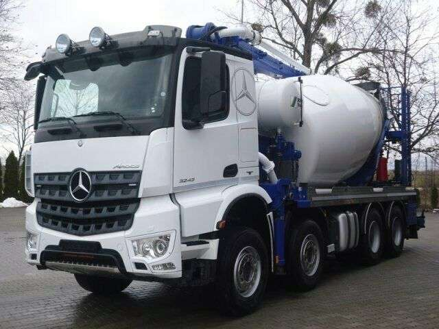 Mercedes-Benz Arocs 3243 8x4 Euro6 Pumi Schwing 26m - 2015