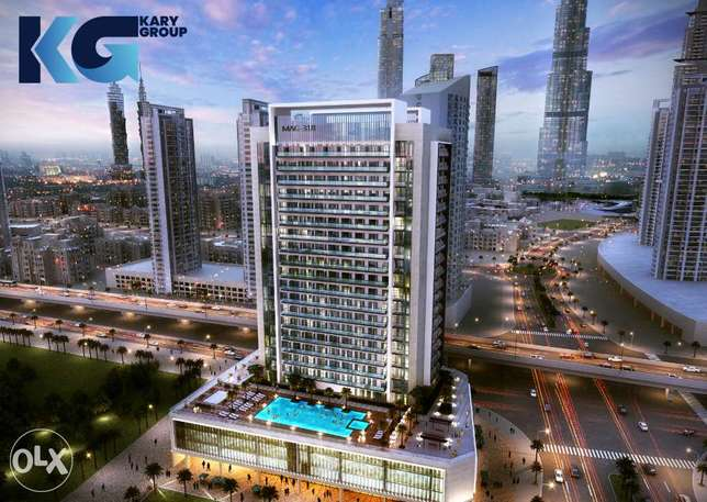 Apartments for sale in Mag 318 Tower in downtown Dubai Business Bay
