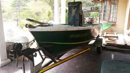 16 ft Basson Craft boat
