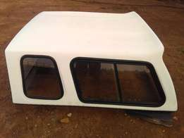 np 300 double cab canopy