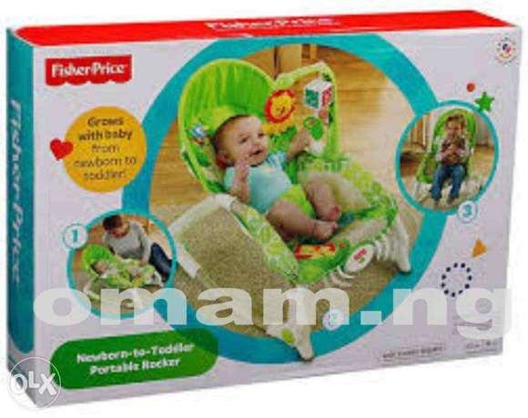 Fisher Price Newborn To Toddler Portable Rocker Lagos - image 1
