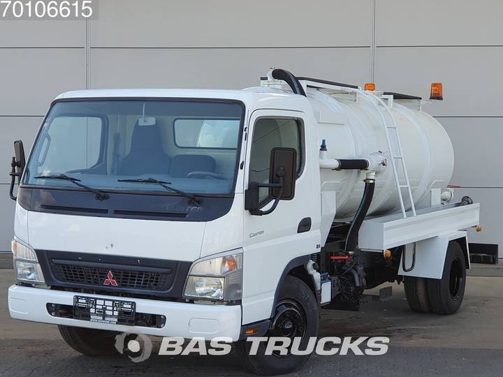Mitsubishi Fuso Canter 4X2 Unused! Sewage Tank Full-steel - 2010