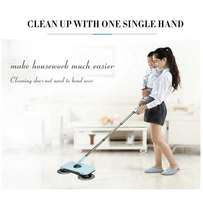 Magic Spin Hand Push Hard Floor Sweeper Device - For Home & Offices (