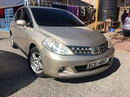 Quick Sale Nissan Tiida 2008 For Sale Asking Price 720,000/=o.n.o