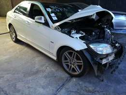 Mercedes Benz W204 Stripping for spares