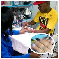 Nail technology and beauty training at affordable fee.