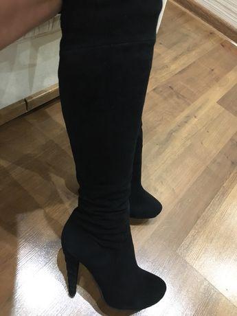 e9a48b90f Архив: Зимние замшевые сапоги BROCOLI: 1 600 грн. - Женская обувь ...