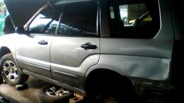 Subaru Forrester parts available
