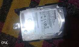 500Gb Toshiba laptop harddisk