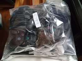 Playstation 2 Console with two remotes and a game FOR SALE