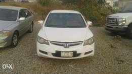 Honda Civic, iV-Tec, 2006 Model, White Colour