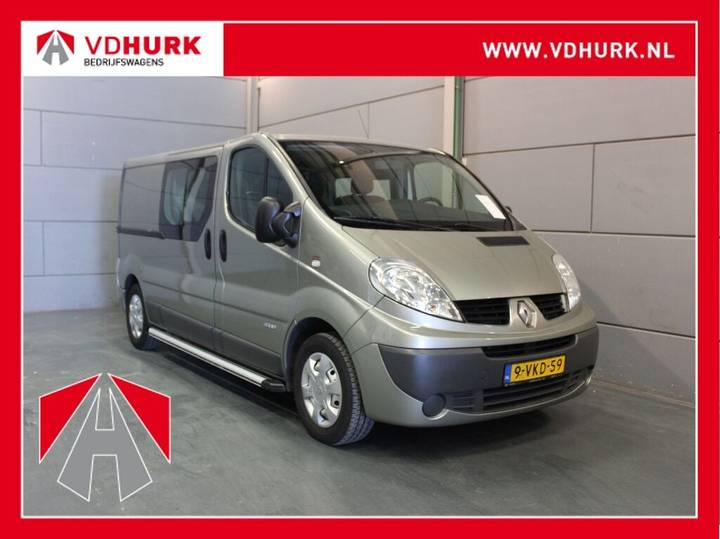 Renault Trafic 2.0 dCi T29 DC Dubbel Cabine L2H1 Navi/Cruise/Airco - 2010