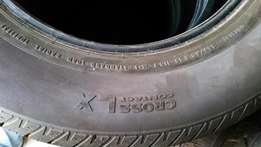 R16 continental cross contact tyres for sale.