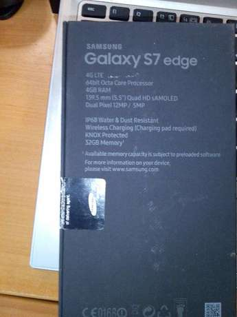 New Samsung Galaxy s7 Edge (gold) single sim with screen protector Nairobi CBD - image 6