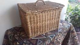 Wicker Picnic Basket.