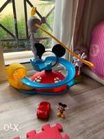 Mickey Mouse club house slide