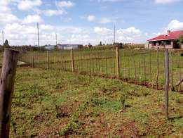 Plot for sale at Kapseret (Kericho ndogo)