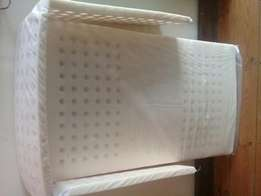 Baby cot matress with side bumper
