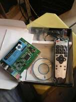 TV card with remote new for sale