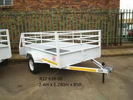 New quality trailer with microdot and papers,sabs approved.